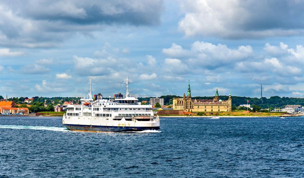 Färjan mellan Helsingborg och Helsingör