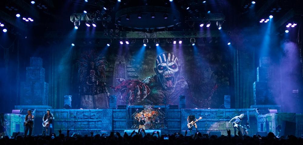 Iron Maiden Live i Stockholm 2018 1 juni