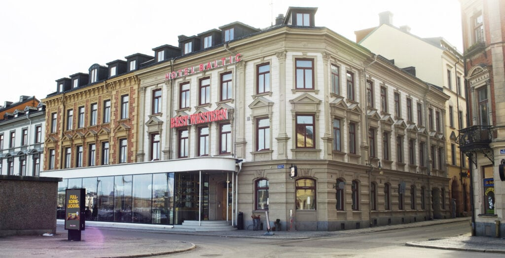 Best Western Hotel Baltic - Hotell i Sundsvall