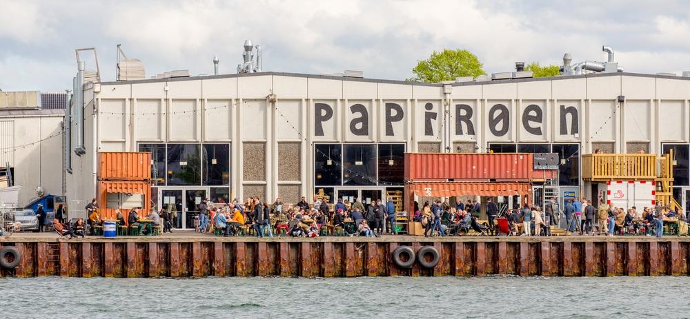 Köpenhamn med familjen - Copenhagen Street Food på Papirøen