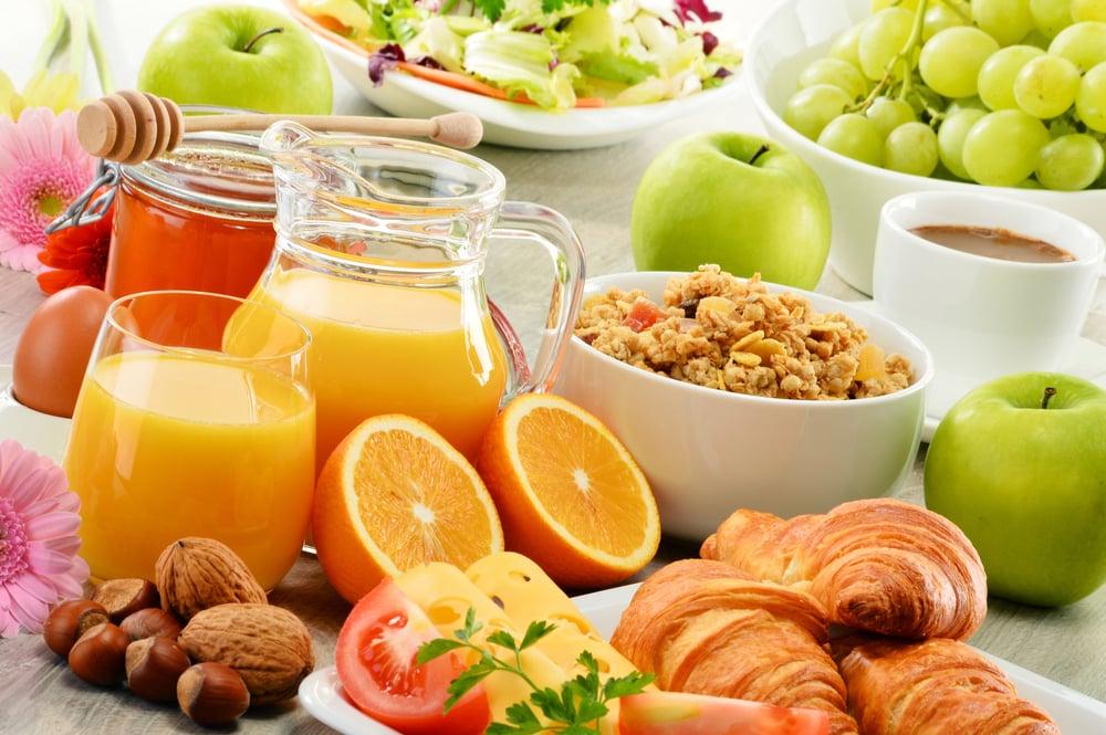 hotellfrukost frukt