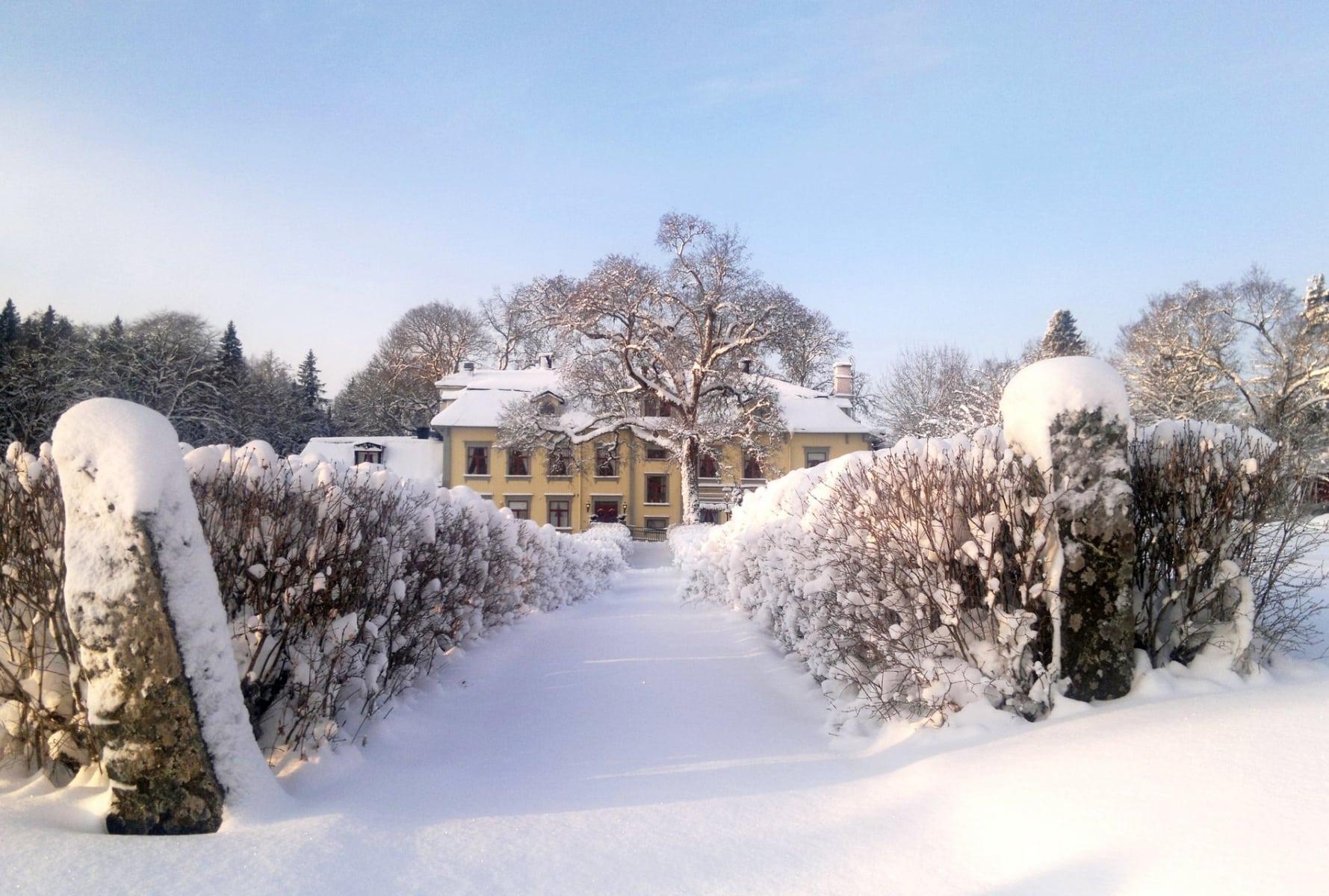 Få den rätta julkänslan på Hennickehammars Herrgård