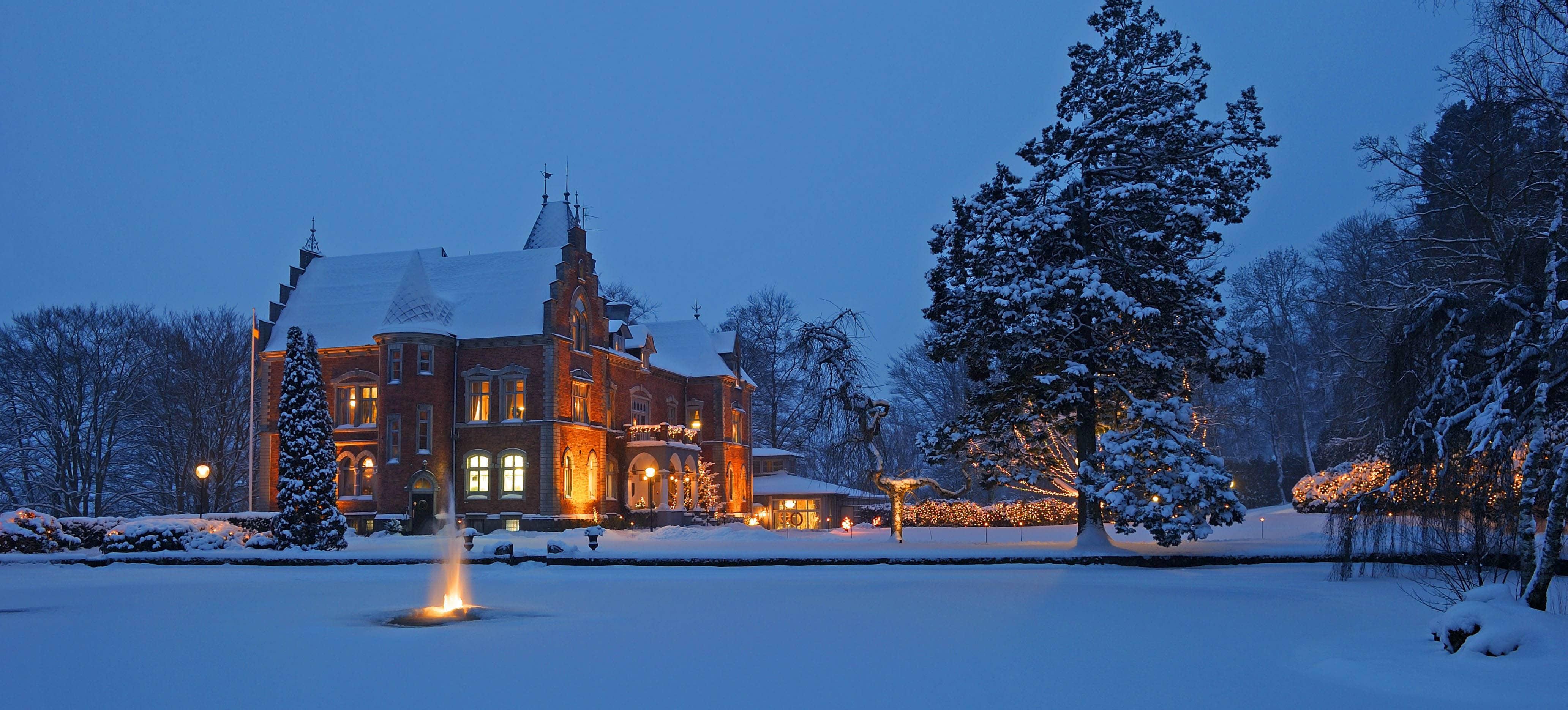 Fira jul på slott 2018
