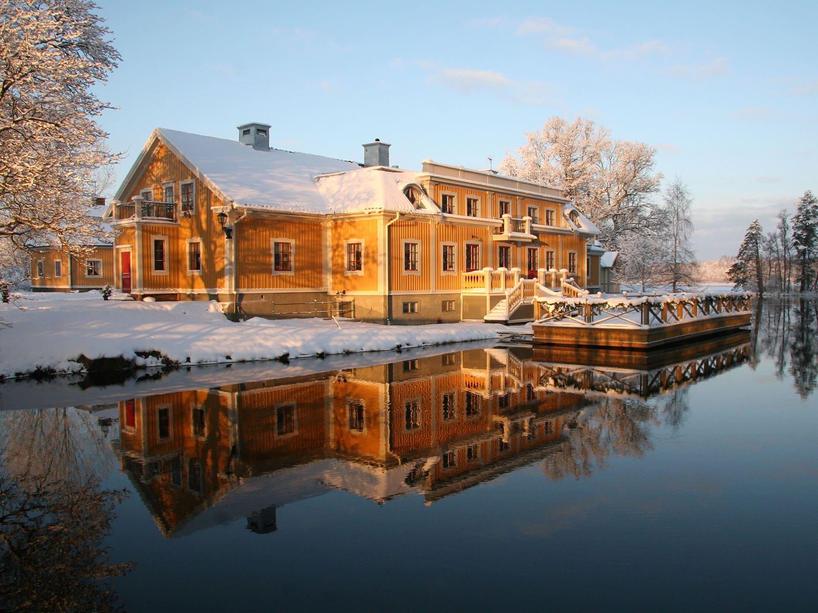 Jul och vinter på Dufweholm