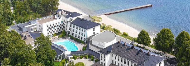 Ystad Saltsjöbad på Österlen - hotell med padelbana